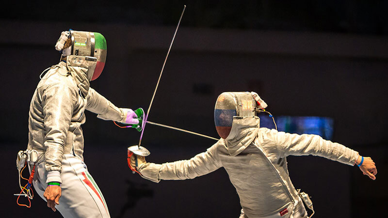 sports in italy fencing